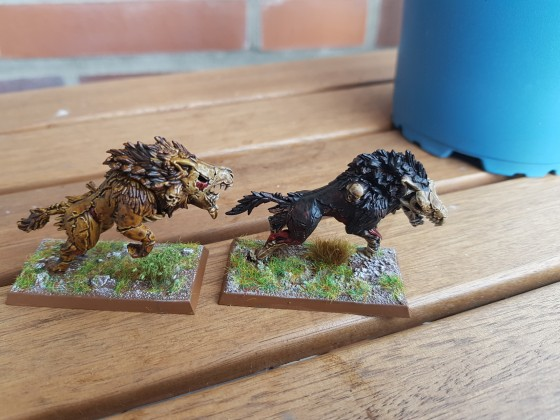Dire Wolves Contrast Paints 2