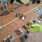Round 1 vs WDG - 1. Kampf im Keller