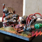 Converted Naptha Thrower