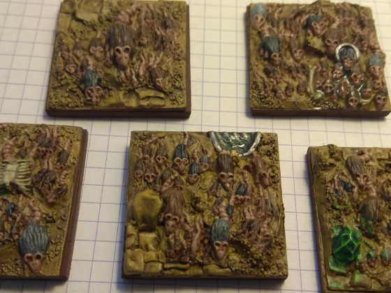 Rat Swarms painted for VotA