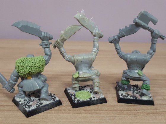 Orcs ready for painting
