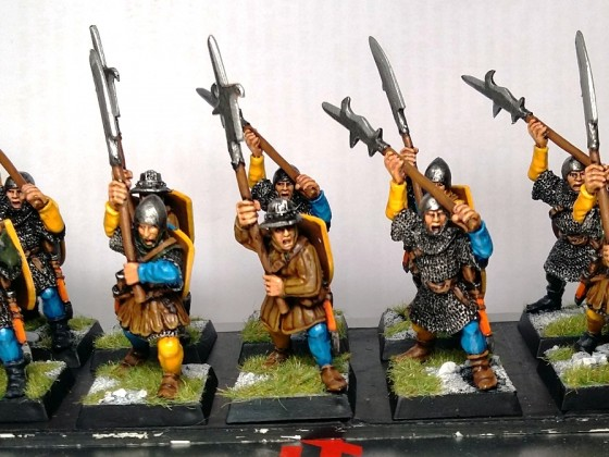 Men at Arms halberdiers