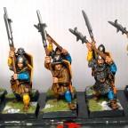 Men at Arms halberdiers