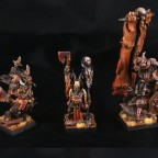 Beast Warlord, Blood Rite Mystic, Wildhorn Chieftain