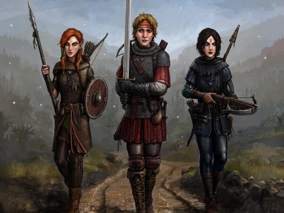 Gritty Girls by Sir Tiefling