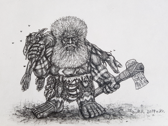 Cave Dwarf of the Mountains of Gold
