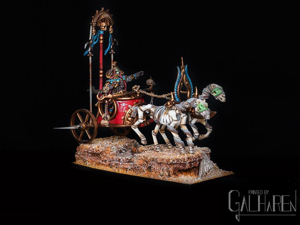 [Galharen] Tomb King on Chariot