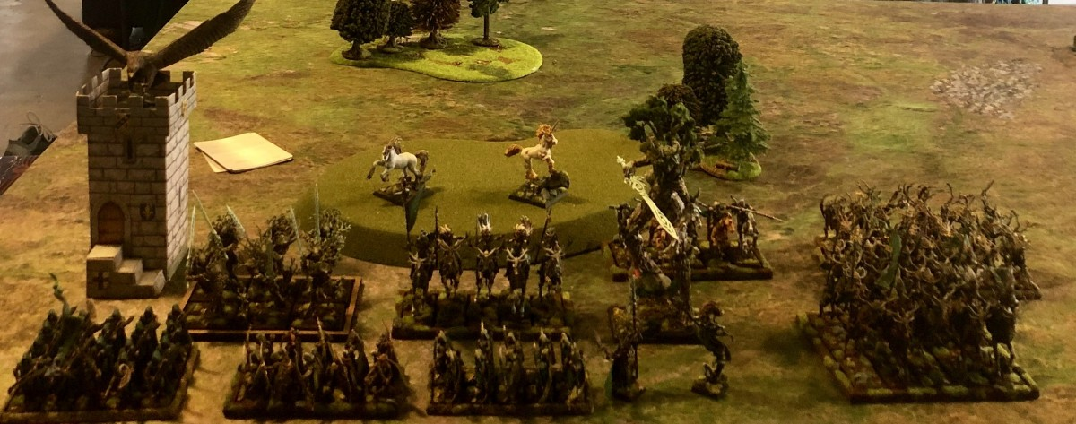 Sylvan Elf Army
