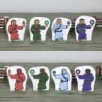 EoS Compatible Wizard Paper Miniature