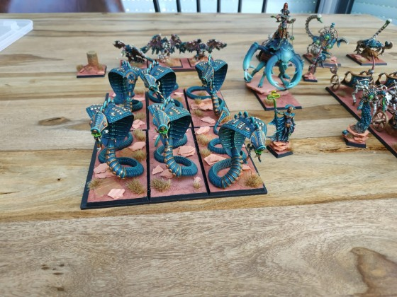 Tomb Kings Cataphracts