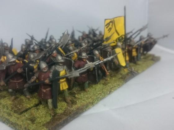Leksand Peasant Halberdiers