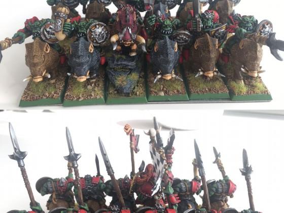 Jinetes Orcos Grandotes / Mounted 'Eadbashers