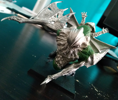Fungoid Wyvern - front view