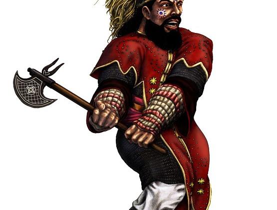 Kegiz Gavem Dwarf VI by Paulus Indomitus