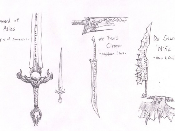 Many Forms of the Giant Sword