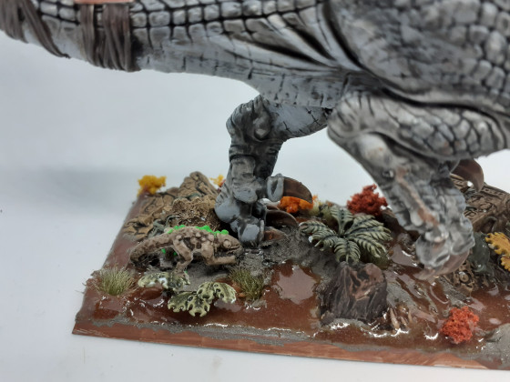 Saurian veterans on carnosaur
