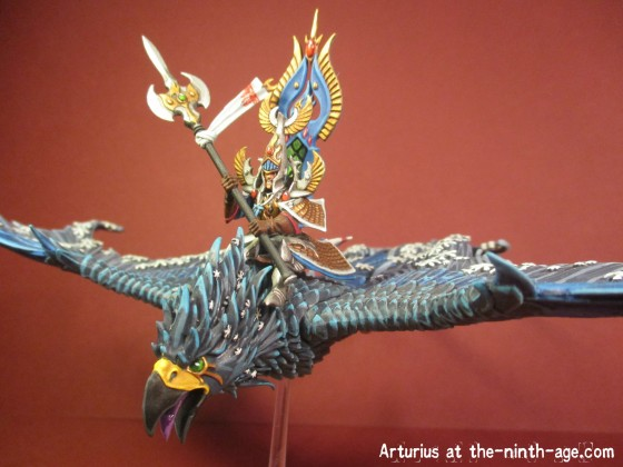 Frost Phoenix with rider