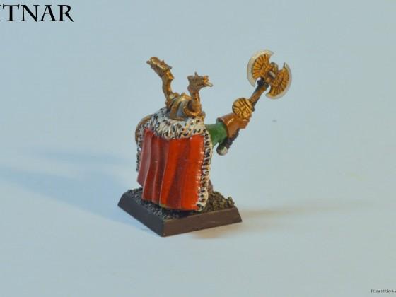 Thane from the Battle of the Skullpass. I call him 'santa'...