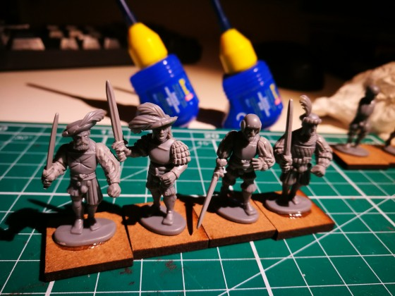 WIP Empire of Sonnstahl Heavy Infantry