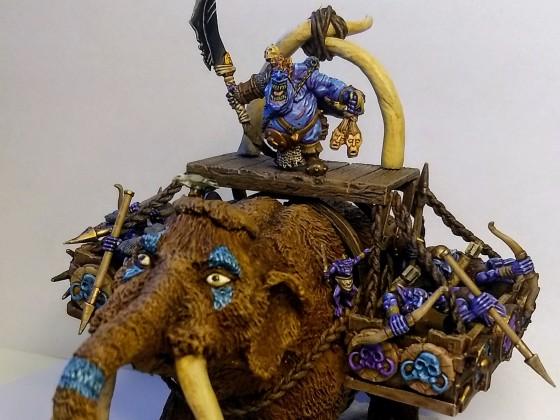 Goblin King on Mammoth (Gargantula)