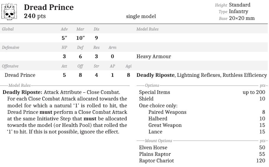 Dread Prince