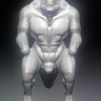 WIP Saurian Warrior