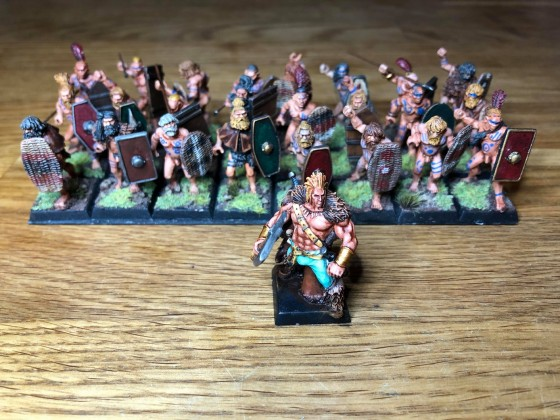 Flagellants with prelate