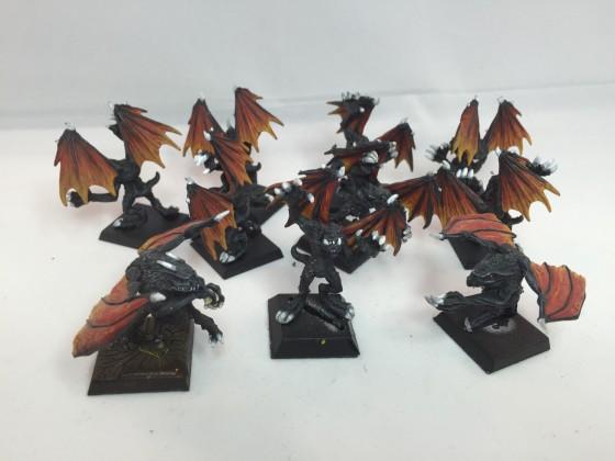 Gargoyles of pestilence
