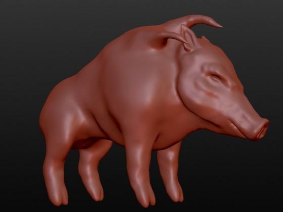 Razortusk 3D testing