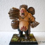 "Ogre Gorelock Painted by ""Chuck"""