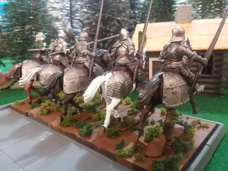 Heavy cavalry rear view