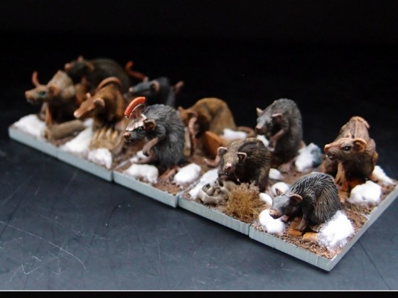 VS - Giant Rats