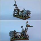 Battle Standard on Lion Chariot