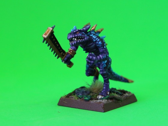 Saurian Totom Warrior