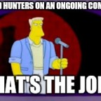 Wild huntsmen joke