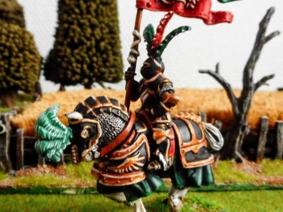 Empire of Sonnstahl - Marshal BSB on horse