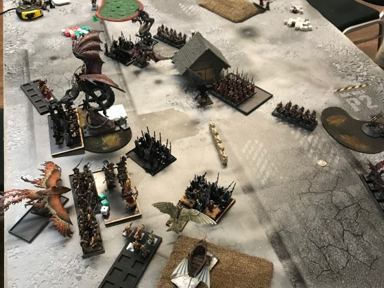 Last Stand 2018 - DE vs HE (DE turn 2 after charges)