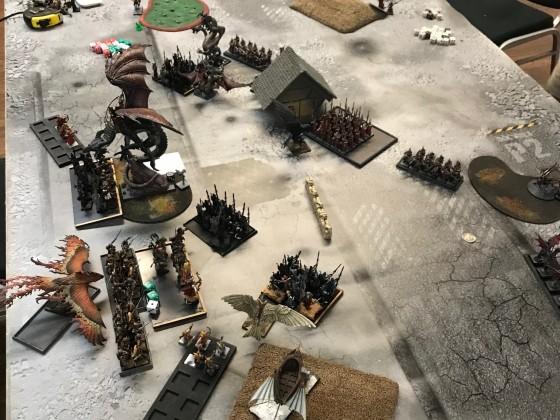 Last Stand 2018 - DE vs HE (DE turn 2 after charges)