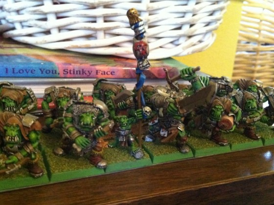 Orcs with Crossbows