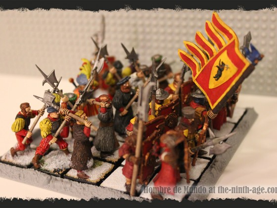Heavy Infantry Battalion with Halberds 2