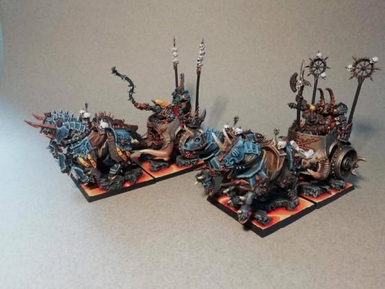 WDG chariots