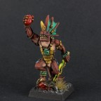 Xokha Skink Priest/Captain (Tehenhauin model)