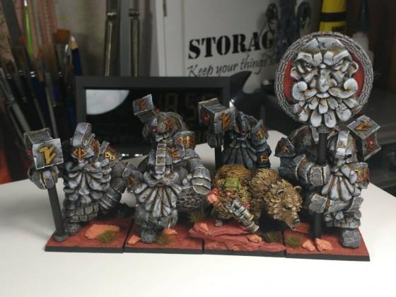 Last production dwarf army