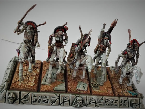 Hail to the Guardians of the Dead Cities! Skeleton Scouts
