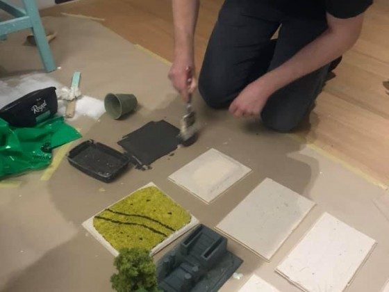 Custom Table Project - Making Terrain