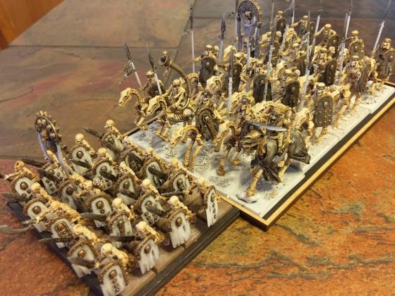 Wip skeleton cavalry