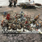 Speardwarfs with King on Bear and BSB on Chair