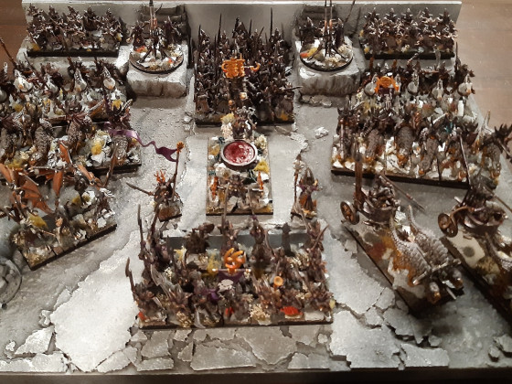 Dread Elves on Display