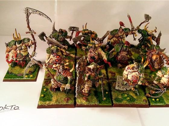 12 Brutes of Pestilence + Chosen Lord of Pestilence