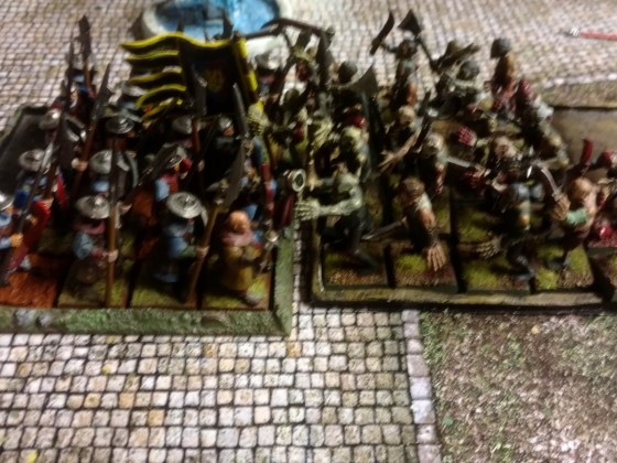Peasant Levy vs Zombies